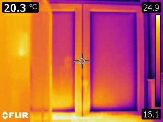 Batiment thermographie mensor